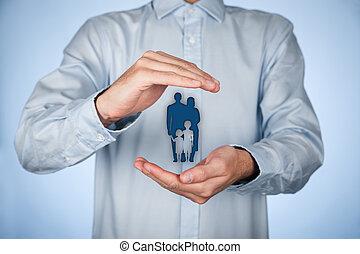 politica, assicurazione vita, famiglia