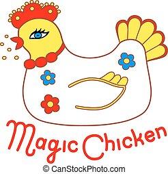 pollo, magia