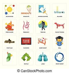 polmoni, set, sistema, icone, finestra, fritto, club, pulizia, mercato, solare, trekking, importazione, lotta, super, esportazione, pollo