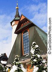 polonia, zakopane, chiesa