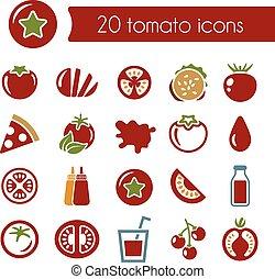 pomodoro, icone