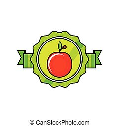 pomodoro, verdura fresca, sigillo, francobollo