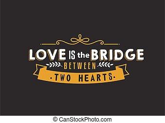 ponte, amore