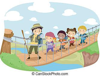 ponte, appendere
