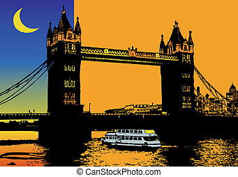 ponte, londra