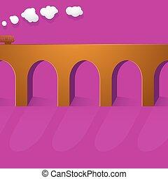 ponte, pietra, viadotto