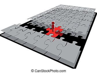 ponte, puzzle