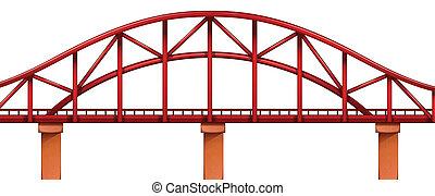 ponte, rosso