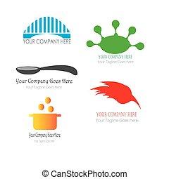 ponte, vettore, sagoma, illustrazione, logotipo