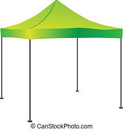 pop-up, commerciale, tenda