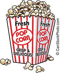 popcorn, fresco