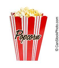 popcorn, percorso, ritaglio
