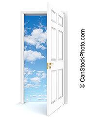 porta aperta, sky.