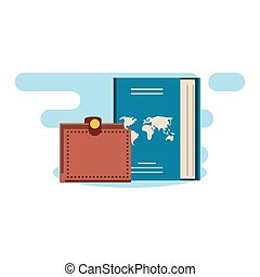 portafoglio, documento viaggio, passaporto