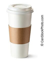 portar via, supporto, tazza caffè
