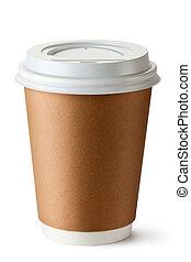 portar via, thermo, tazza caffè