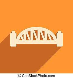 porto sydney, icona, uggia, ponte, appartamento, lungo