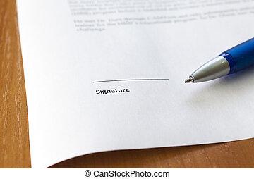 posto, firma