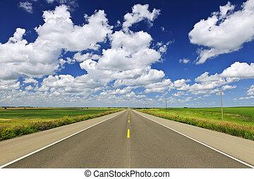 prateria, autostrada