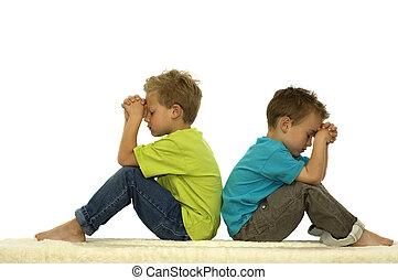 pregare, amici