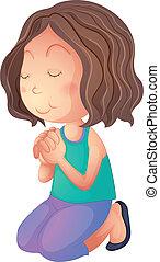 pregare, donna
