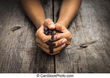 pregare, persona