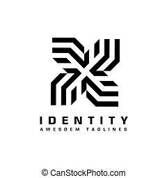 premio, vettore, turbine, creativo, logotipo