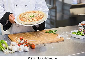 presa a terra, chef, su, pizza