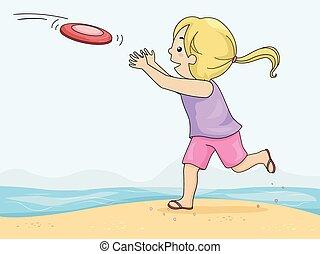 presa, frisbee