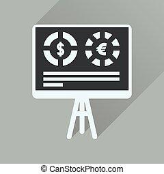 presentazione, icona, lungo, affari, uggia, appartamento