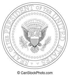presidente, sigillo