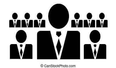 presidente, simbolo, vettore
