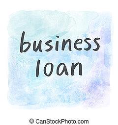 prestito, affari