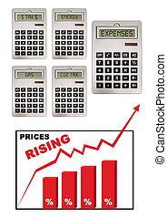 prezzi, inflazione