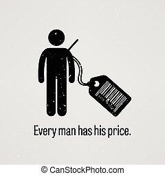 prezzo, ha, ogni, uomo