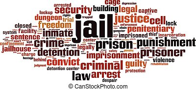 prigione, nuvola, parola