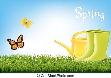 primavera, bandiera