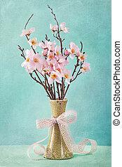 primavera, mela, fiori