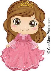 principessa, costume