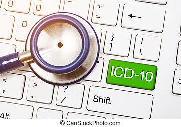 problema, o, revisione, relativo, salute, malattie, internazionale, 10, classificazione, icd-10.