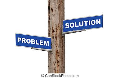 problema, soluzione, &