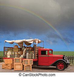 produrre, camion