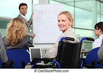 professionale, riunione, squadra