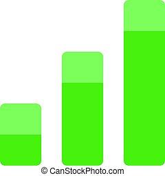 profitto, grafico, affari