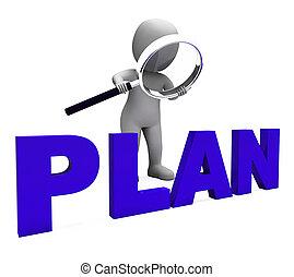 progetti, obiettivi, carattere, pianificazione, piano, organizzazione, mostra