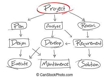 progetto, sviluppo, grafico