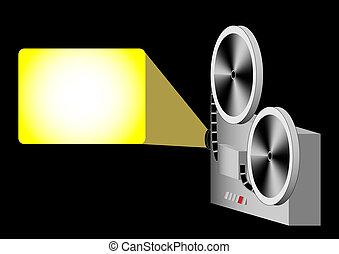 proiettore, cinema