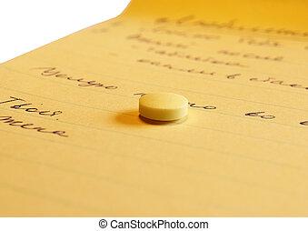 promemoria, pillola