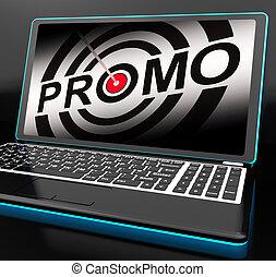 promozioni, promo, laptop, speciale, mostra