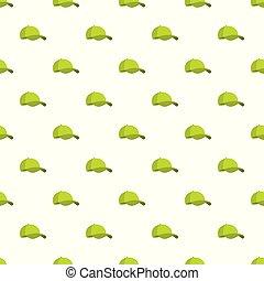 protezione verde, baseball, seamless, modello